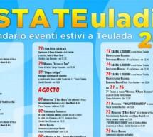 FESTATE TEULADINA – CALENDARIO EVENTI LUGLIO-AGOSTO-SETTEMBRE 2018