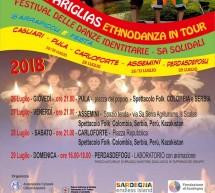 42° IS PARIGLIAS – ETHNODANZA IN TOUR – 26-29 LUGLIO 2018