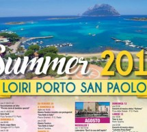 CALENDARIO EVENTI ESTATE 2018 A LOIRI PORTO SAN PAOLO