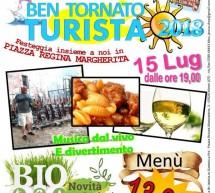 BEN TORNATO TURISTA – MONTI – DOMENICA 15 LUGLIO 2018