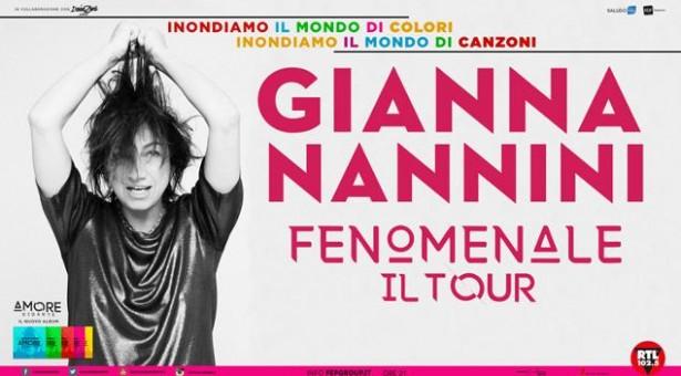 GIANNA NANNINI – FENOMENALE TOUR – GOLFO ARANCI – MERCOLEDI 18 LUGLIO 2018