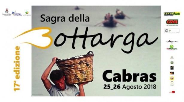 SAGRA DELLA BOTTARGA – CABRAS – 25-26 AGOSTO 2018