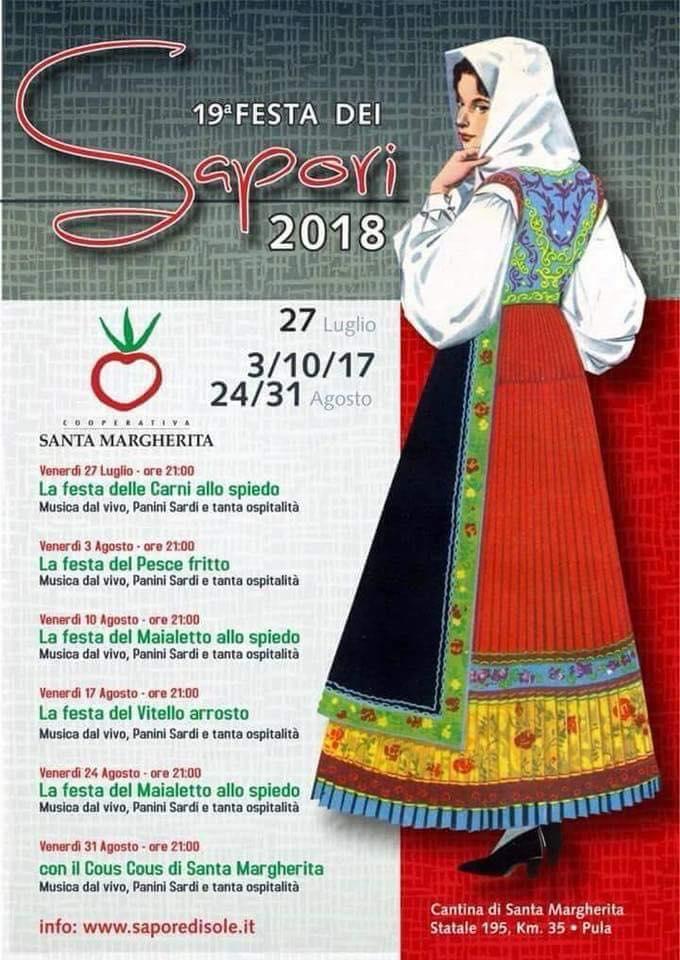 FESTA SAPORI PULA 2018