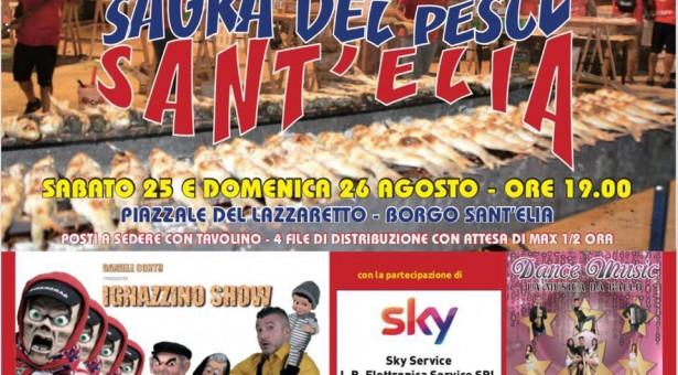 SAGRA DEL PESCE a SANT'ELIA – CAGLIARI – 25-26 AGOSTO 2018