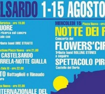 FERRAGOSTO 2018 A CASTELSARDO – 11-15 AGOSTO 2018