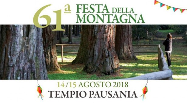 61° FESTA DELLA MONTAGNA – TEMPIO PAUSANIA – 14-15 AGOSTO 2018