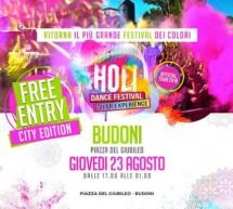 HOLI DANCE FESTIVAL – BUDONI & BADESI – 23 e 25 AGOSTO 2018