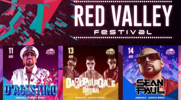 RED VALLEY FESTIVAL – ARBATAX- 11-14 AGOSTO 2018