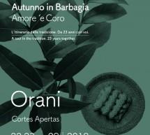 AUTUNNO IN BARBAGIA – ORANI – 22-23 SETTEMBRE 2018