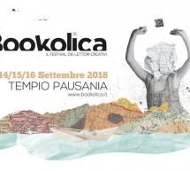 BOOKOLICA- TEMPIO PAUSANIA- 14-15-16 SETTEMBRE 2018