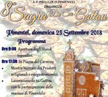 SAGRA DEL GATTOU – PIMENTEL – DOMENICA 23 SETTEMBRE 2018