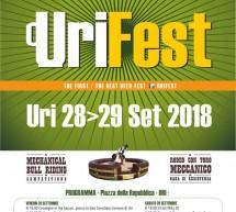 URIFEST – URI – 28-29 SETTEMBRE 2018