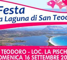FESTA DELLA LAGUNA DI SAN TEODORO – DOMENICA 16 SETTEMBRE 2018