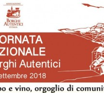 GIORNATA NAZIONALE DEI BORGHI AUTENTICI D'ITALIA IN SARDEGNA – DOMENICA 30 SETTEMBRE 2018