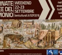 GIORNATE EUROPEE DEL PATRIMONIO IN SARDEGNA – 22-23 SETTEMBRE 2018