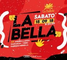LA BELLA – LA PAILLOTE – CAGLIARI – SABATO 15 SETTEMBRE 2018