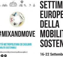 SETTIMANA EUROPEA DELLA MOBILITA' SOSTENIBILE – CAGLIARI – 16-22 SETTEMBRE 2018