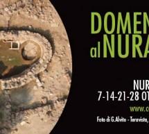 DOMENICHE AL NURAGHE – CARBONIA – 7-14-21-28 OTTOBRE 2018