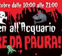HALLOWEEN ALL'ACQUARIO DI CALA GONONE – MERCOLEDI 31 OTTOBRE 2018