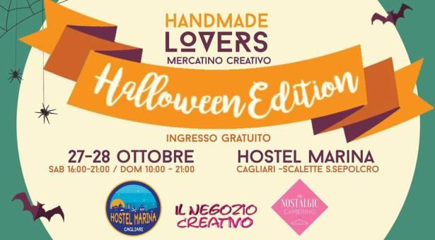 HANDMADE LOVERS – HALLOWEEN EDITION – HOSTEL MARINA – CAGLIARI – 27-28 OTTOBRE 2018