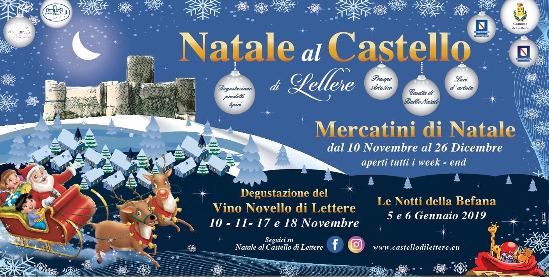 Immagini Di Lettere Di Natale.Mercatini Di Natale 2018 Castello Di Lettere 10 Novembre