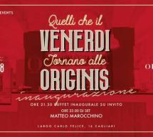 QUELLI CHE IL VENERDI TORNANO ALLE ORIGINIS – CAGLIARI – VENERDI 19 OTTOBRE 2018