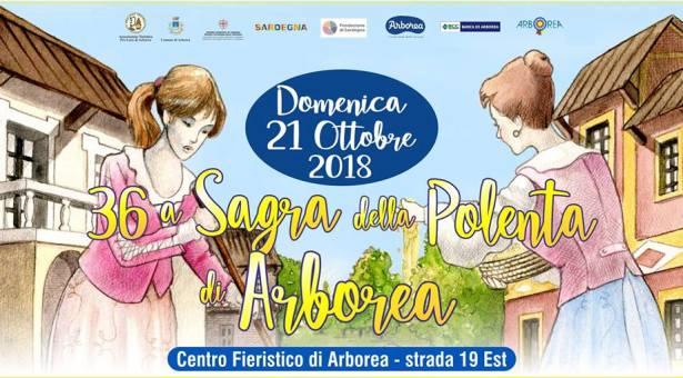 36° SAGRA DELLA POLENTA- ARBOREA – DOMENICA 21 OTTOBRE 2018