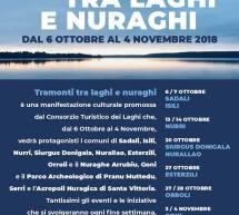 TRAMONTI TRA LAGHI E NURAGHI – 6 OTTOBRE- 4 NOVEMBRE 2018