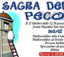 SAGRA DELLA PECORA – SAN GAVINO MONREALE – DOMENICA 21 OTTOBRE 2018