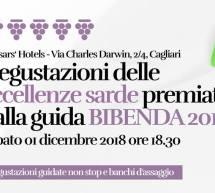 DEGUSTAZIONE DELLE ECCELLENZE PREMIATE DA BIBENDA 2019 – CAESAR'S HOTEL – CAGLIARI – SABATO 1 DICEMBRE 2018