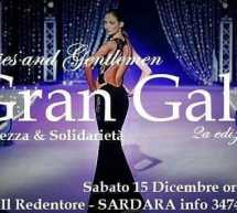 GRAN GALA' – IL REDENTORE – SARDARA – SABATO 15 DICEMBRE 2018