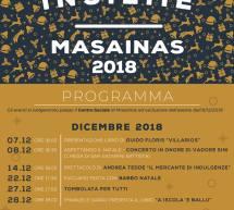 NATALE INSIEME – MASAINAS – 7 DICEMBRE-  5 GENNAIO 2019