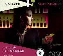 PREDISCO – DJ SPEDICATI – NIU – CAGLIARI – SABATO 17 NOVEMBRE 2018