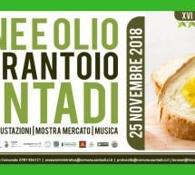PANE E OLIO IN FRANTOIO – SANTADI – DOMENICA 25 NOVEMBRE 2018