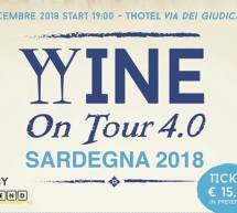 WINE on TOUR – T HOTEL – CAGLIARI – SABATO 22 DICEMBRE 2018