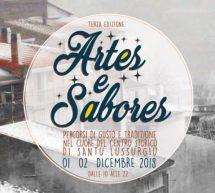 ARTES E SABORES – SANTU LUSSURGIU – 1-2 DICEMBRE 2018