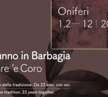 AUTUNNO IN BARBAGIA – ONIFERI – 1-2 DICEMBRE 2018