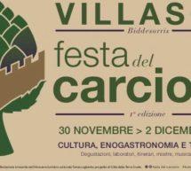 FESTA DEL CARCIOFO – VILLASOR – 30 NOVEMBRE -2 DICEMBRE 2018