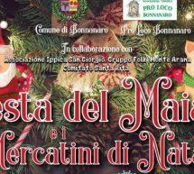 FESTA DEL MAIALE & MERCATINI DI NATALE -BONNANNARO – 9 DICEMBRE- 6 GENNAIO 2019