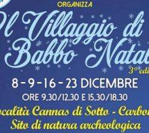 IL VILLAGGIO DI BABBO NATALE – CARBONIA – 8-9-16-23 DICEMBRE 2018