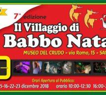 IL VILLAGGIO DI BABBO NATALE – SAN SPERATE – 8-9-15-16-22-23 DICEMBRE 2018