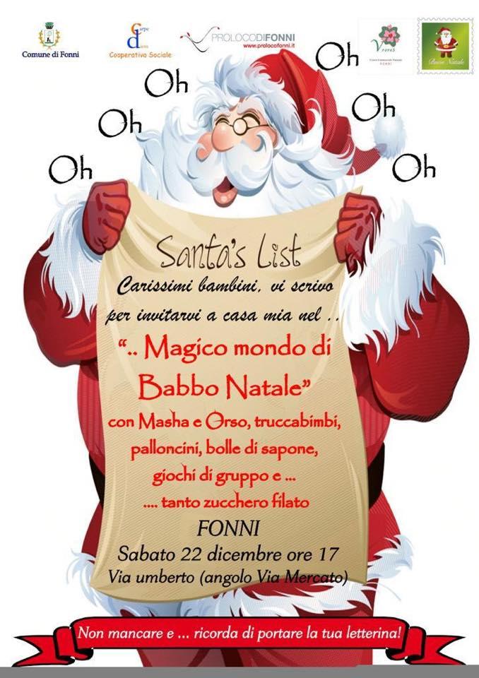 Natale 2019.Natale A Fonni 22 Dicembre 6 Gennaio 2019 Kalariseventi