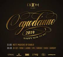CAPODANNO 2019 AL ROOM CLUB – CAGLIARI – LUNEDI 31 DICEMBRE 2018