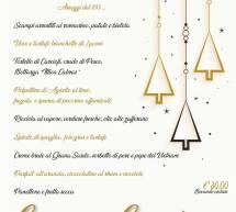 CENONE DI CAPODANNO 2019 A SU CARDULEU – ABBASANTA- LUNEDI 31 DICEMBRE 2018