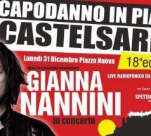 CAPODANNO 2019 A CASTELSARDO CON GIANNA NANNINI – LUNEDI 31 DICEMBRE 2018