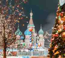 MERCATINI DI NATALE 2019: MOSCA – 18 DICEMBRE – 14 GENNAIO 2020