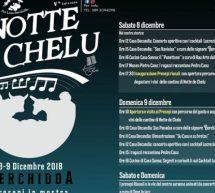 NOTTE DE CHELU – BERCHIDDA – 8-9 DICEMBRE 2018