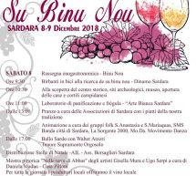 FESTA DE SU BINU NOU – SARDARA – 8-9 DICEMBRE 2018