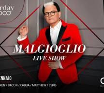 CRISTIANO MALGIOGLIO LIVE SHOW – COCO DISCOCLUBBING – CAGLIARI – SABATO 26 GENNAIO 2019