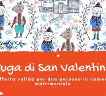 FUGA DI SAN VALENTINO – AGRITURISMO PRANU – SORGONO – GIOVEDI 14 FEBBRAIO 2019